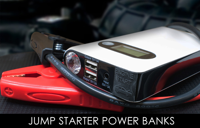 JUMP STARTER POWER BANKS
