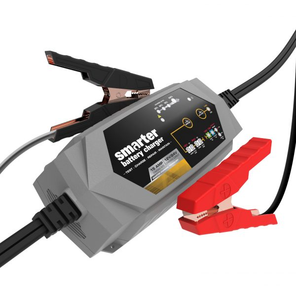 Smartech IC-15000 - 15A 12V/24V Battery Charger