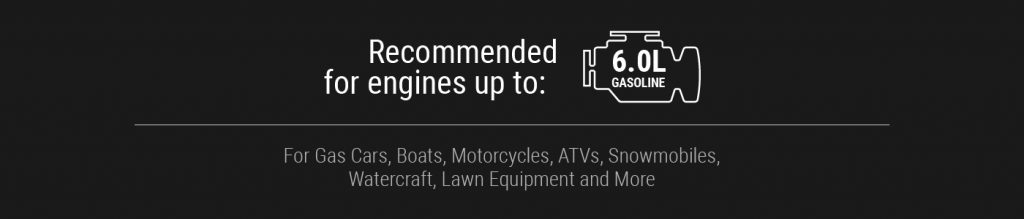 Smartech recommended for engines up to 6L