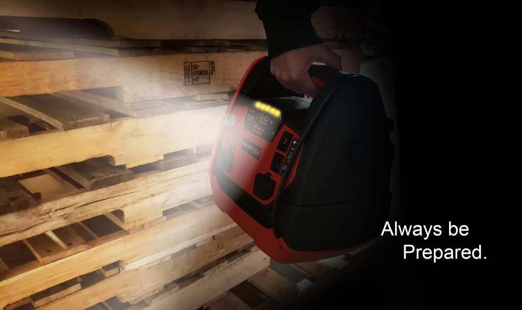 Always prepared - Smartech JST-950 comes with a flash light Always be prepared.