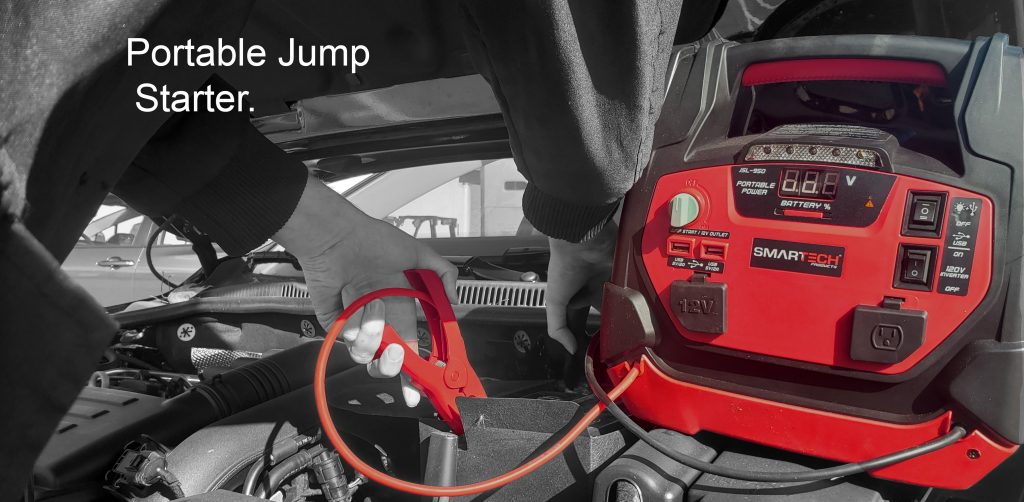 Smartech with Portable Jump starter