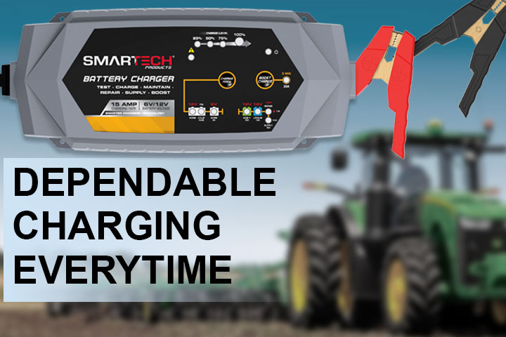 Smartech Battery Chargers & Maintainers