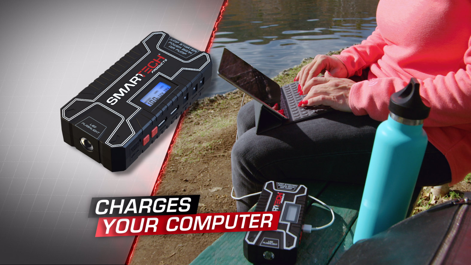 Smartech TECH-5000P - Charges your computer