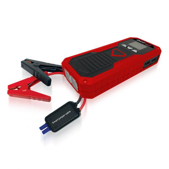 1) 10000mAh Jump Starter & Cables 1