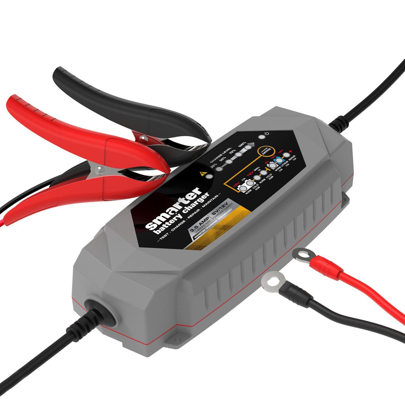 Smartech 6 12v 35a Smart Automotive Battery Charger New 6v Auto Electrical Circuit Tester Car Garage Equipment Light Mgctlbxnmzp Mgctlbxv525 Mgctlbxlc