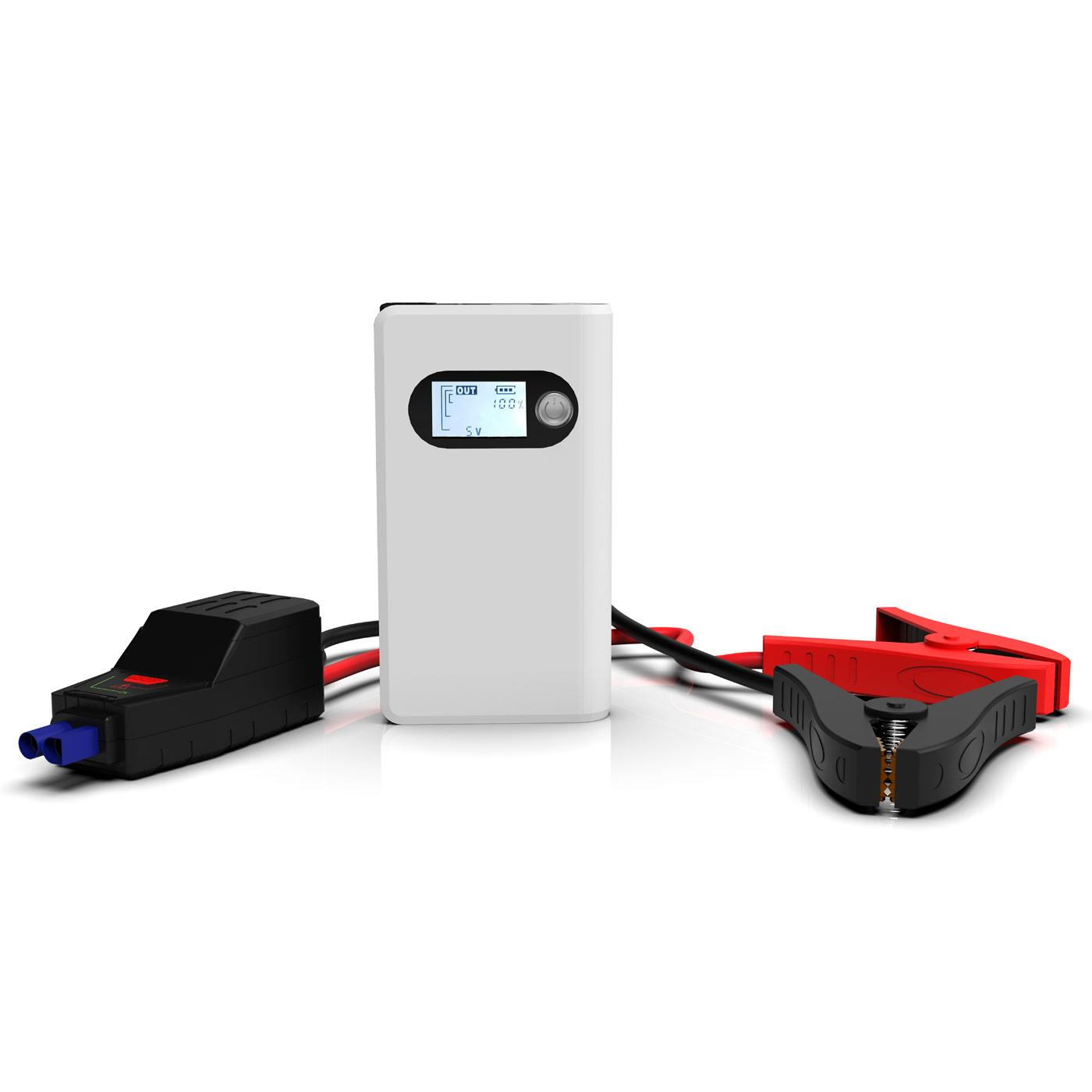 Portable Jump Starter Hard Case For Car Battery Booster Power Charger 8000m Bank
