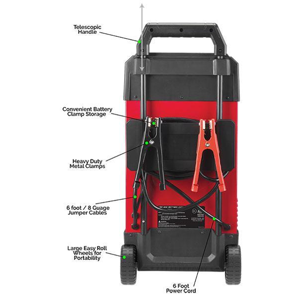 Smartech WBC-200 6V/12V Wheel Automotive Battery Charger