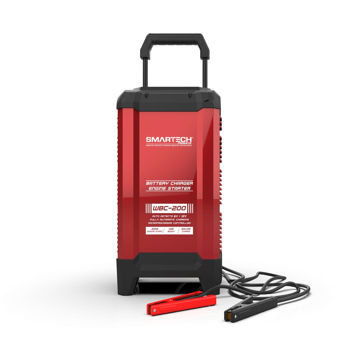 Smartech Wbc 200 6v 12v Wheel Automotive Battery Charger Inc 2a Lead Acid Car With Short Circuit Protection By