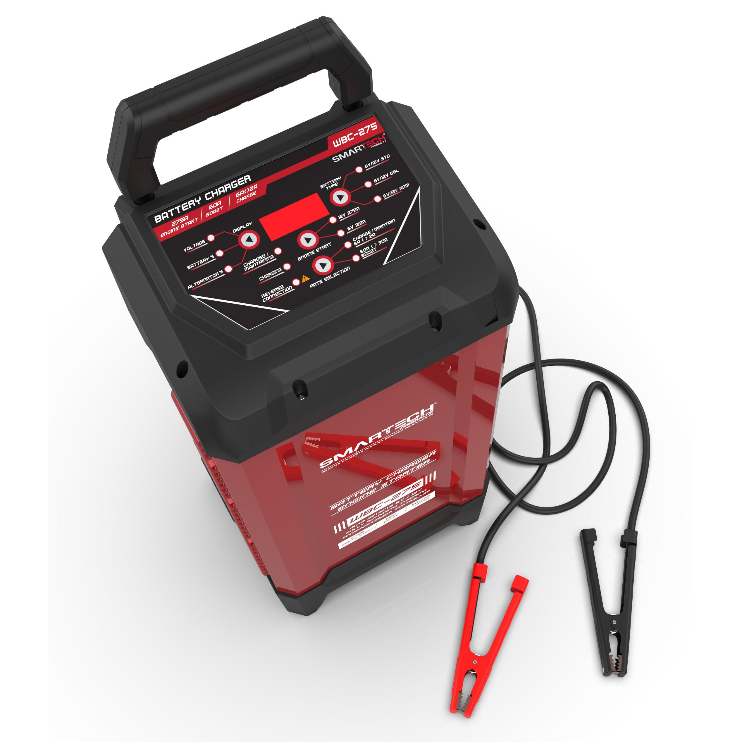 Smartech WBC 275 6V12V Wheel Automotive Battery Charger, Maintainer