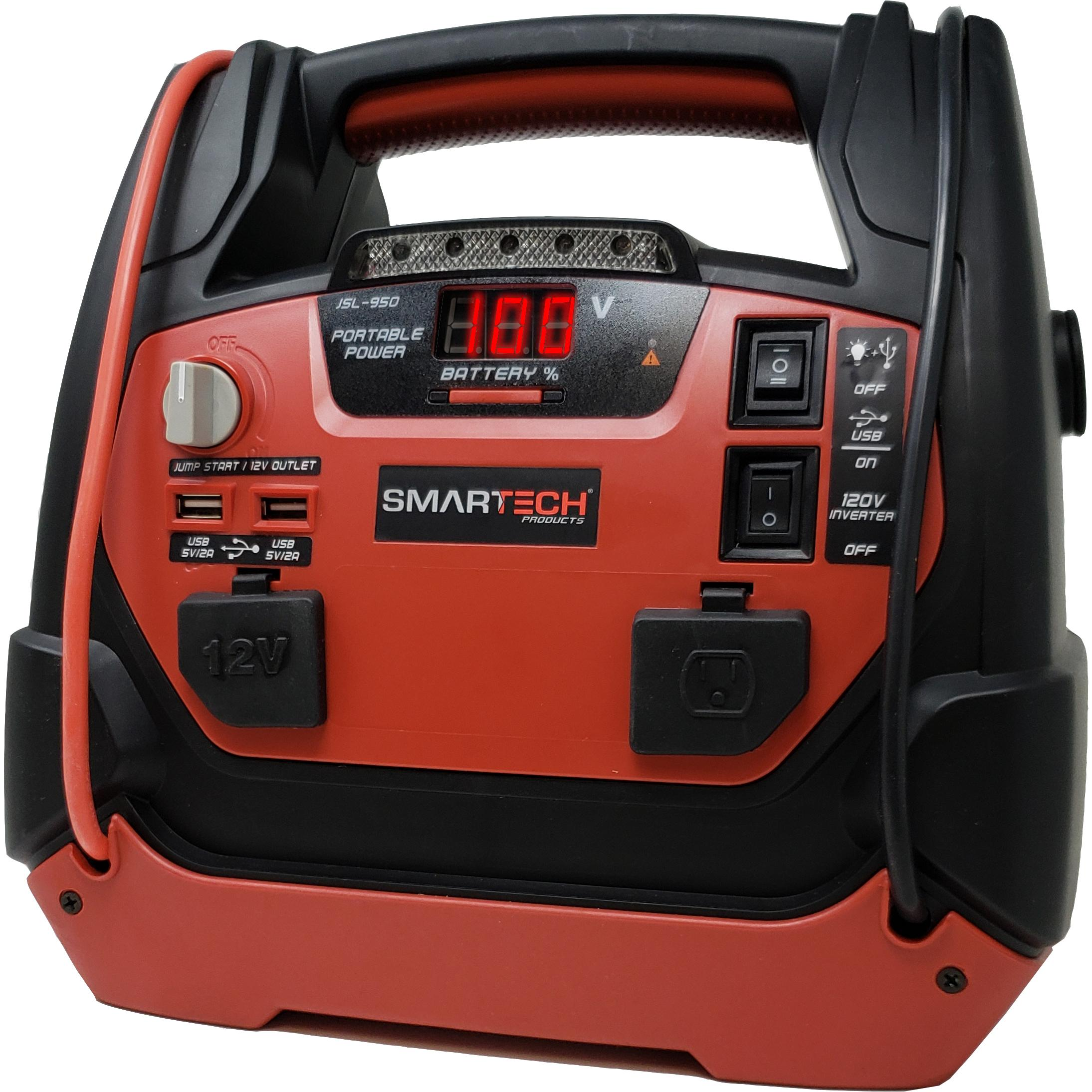 Smartech JSL-950 Power Station with Jump Starter and Air Compressor
